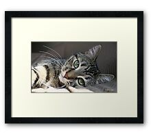 I Get Lost In Your Eyes Framed Print