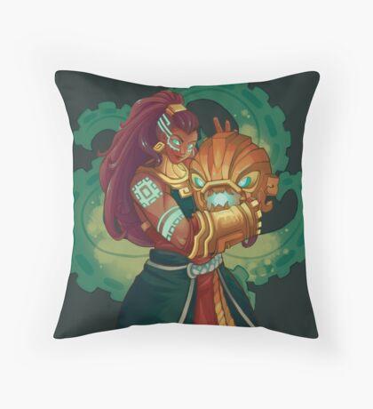 Illaoi the Kraken Priestess Throw Pillow