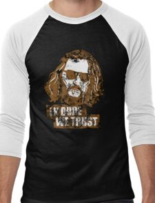 In Dude We Trust (Dude) Men's Baseball ¾ T-Shirt