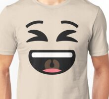 Emoji Super Delighted and Happy Unisex T-Shirt