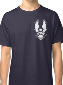 U.N.S.C. Insignia, 343i Redesign (White Logo) Classic T-Shirt