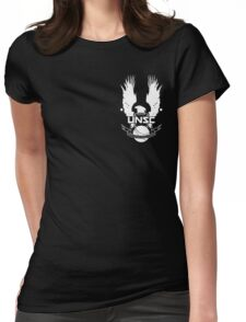 U.N.S.C. Insignia, 343i Redesign (White Logo) Womens Fitted T-Shirt
