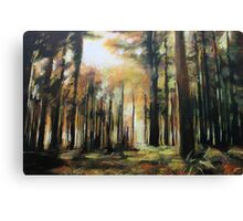 Abstract Forest Art Canvas Print