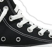Black Converse High Top Sticker