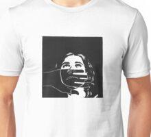 Self Portrait - Lino Cut Unisex T-Shirt