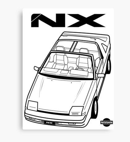 Nissan Pulsar NX Action Shot (LHD) Canvas Print