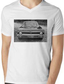 Chevy SS Monochrome Mens V-Neck T-Shirt