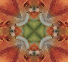 Kaleidoscopic Floral 2.1 Sticker