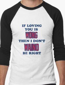 Cardinal Love Men's Baseball ¾ T-Shirt