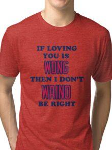 Cardinal Love Tri-blend T-Shirt