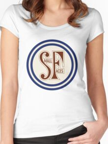 Small Faces  Women's Fitted Scoop T-Shirt