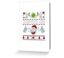 Merry Rick-Mas T-Shirt Greeting Card