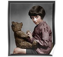 Christopher Robin and Pooh Poster