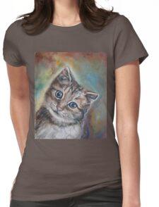 Cutest Kitten Womens Fitted T-Shirt