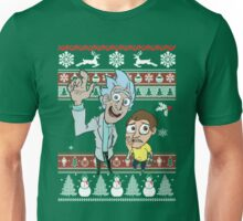 Rick and Morty Christmas Sweater T-Shirt Unisex T-Shirt