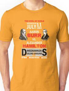 Hamilton Vs Burr Unisex T-Shirt