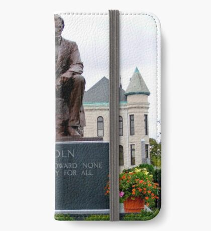 Abraham Lincoln iPhone Wallet/Case/Skin