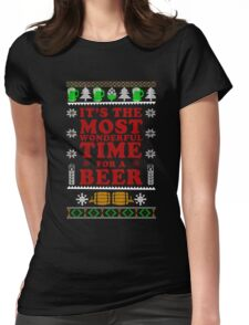 It's The Most Wonderful Time For A Beer T Shirt Womens Fitted T-Shirt