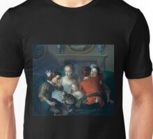 Philippe Mercier - The Sense of Touch Unisex T-Shirt