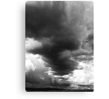 Shadforth Storm Clouds Noir Canvas Print