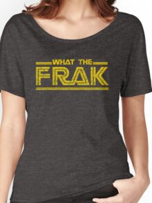 GALACTICA WHAT THE FRAK Women's Relaxed Fit T-Shirt
