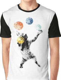 Juggling cat Graphic T-Shirt