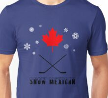 Snow Mexican Canada w/Flakes Unisex T-Shirt