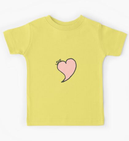 Love Heart Kids Tee