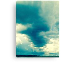 Shadforth Storm Clouds  Process Canvas Print