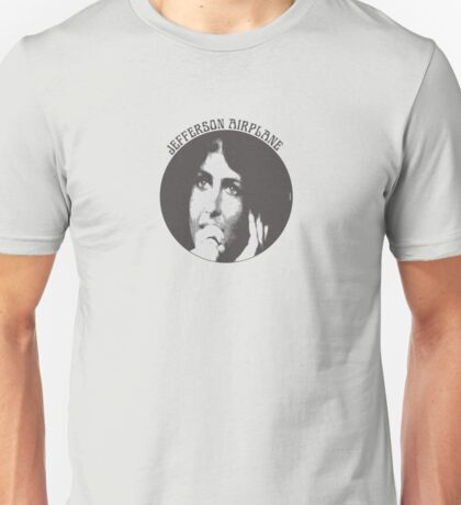 Jefferson Airplane (Grace Slick) Unisex T-Shirt