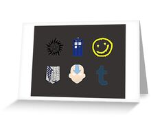 Fandom Collection Greeting Card