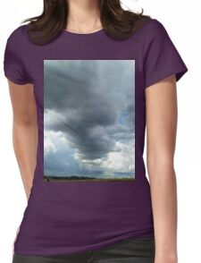 Shadforth Storm Clouds Womens Fitted T-Shirt
