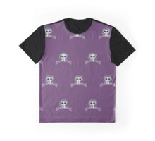 Kitten - Purple (Pattern 3) Graphic T-Shirt