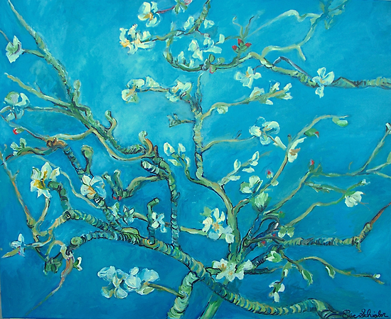 Almond blossoms  Vincent Van Gogh by schiabor