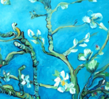 Almond blossoms  Vincent Van Gogh Sticker