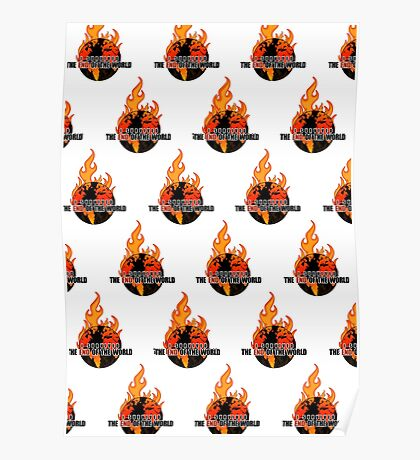 I Survived The End of the world (Pattern) Poster