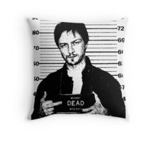 Wanted: McAvoy Throw Pillow