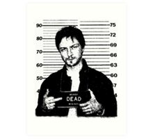 Wanted: McAvoy Art Print