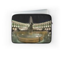 Piazza Della Repubblica by Night Laptop Sleeve