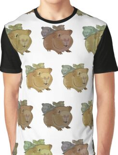 Guinea Pigs (Pattern 1) Graphic T-Shirt