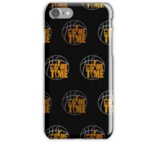 It's Game Time - Yellow (Pattern 2) iPhone Case/Skin