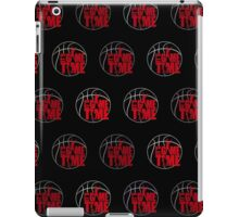 It's Game Time - Red (Pattern 2) iPad Case/Skin