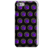 It's Game Time - Purple & Gold (Pattern 2) iPhone Case/Skin