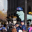 Friday Downtown Cubs Parade day--2016 by CORA D. MITCHELL