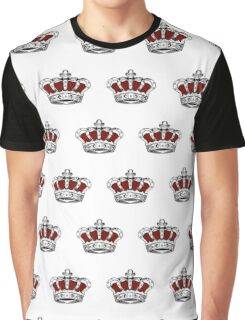 Red Crown - Pattern 1 Graphic T-Shirt