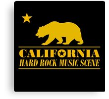 California Hard Rock Music Canvas Print