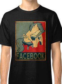 Brony - Facebook Classic T-Shirt