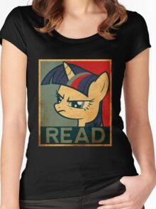 Brony - Read Women's Fitted Scoop T-Shirt