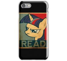 Brony - Read iPhone Case/Skin