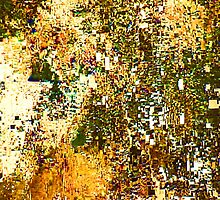 EXPLODING PUMPKIN (Painted Pixels) by leethompson